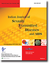Indian Journal of Sexually Transmitted Diseases